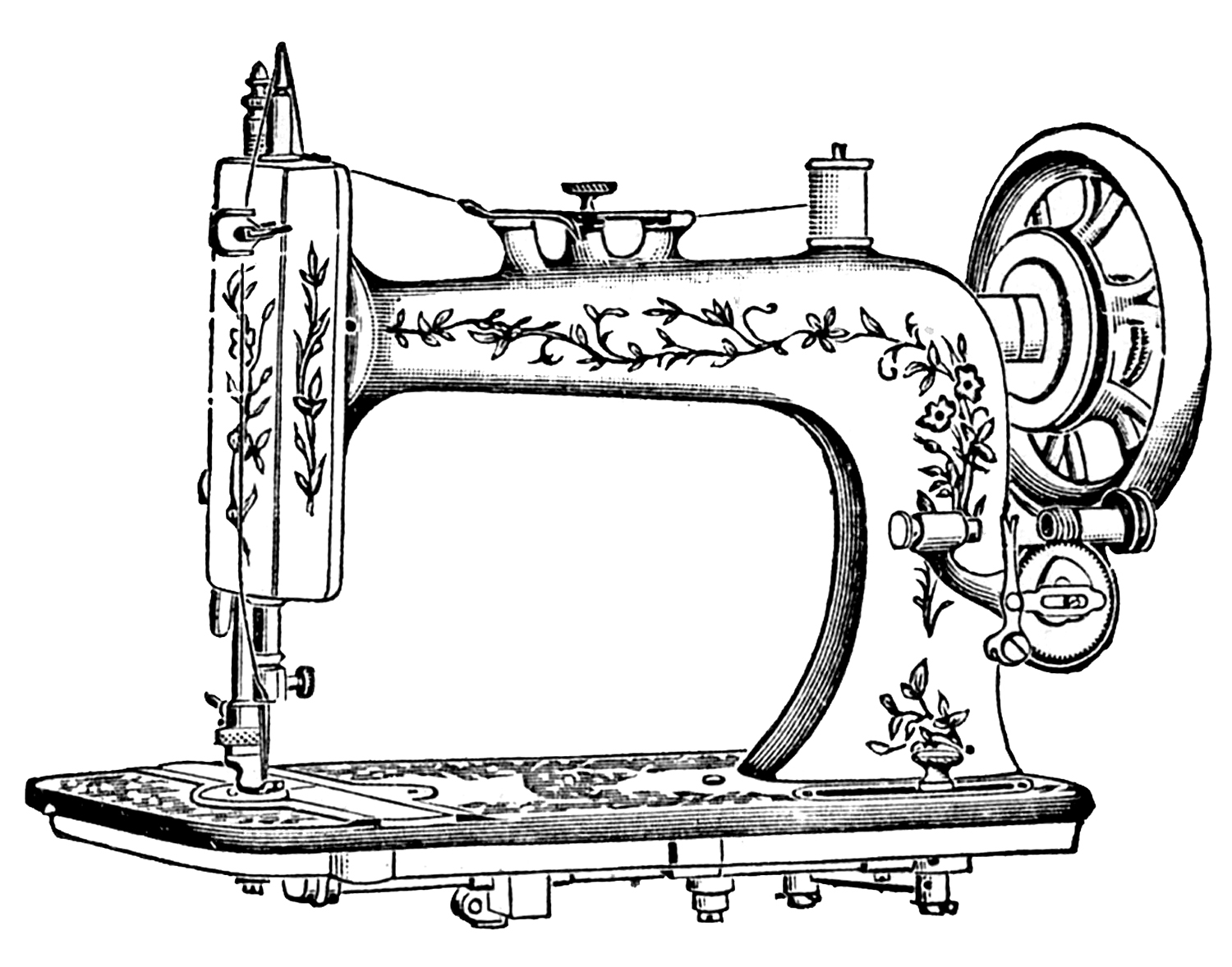 antique-sewing-machine